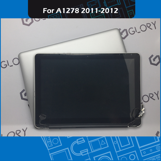 """Full new A1278 LCD Screen assembly 661-6594 for Macbook Pro 13"""" A1278 Display 2011 2012 Year EMC 2419 2555 2554"""