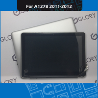 Full new A1278 LCD Screen assembly 661 6594 for Macbook Pro 13 A1278 Display 2011 2012 Year EMC 2419 2555 2554