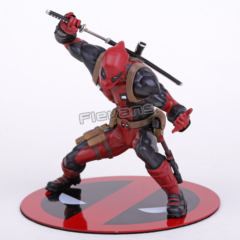 Deadpool ARTFX+SATATUE 1/10 Scale Pre-Painted Model Kit PVC Figure Collection Toy 13.5cm artfx statue dc super hero red robin 1 10 scale pre painted figure collectible model toy