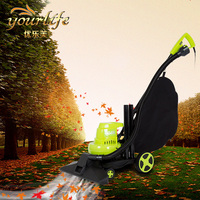 11000 Rev Min 1600w Ultra High Power Lawn Mower Four Round Hand Or Push Electric Multifunctional