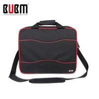 BUBM High Capacity Travel Carry Case Protective Shoulder Bag Handbag For XBOX One XBOX 360 Fatt