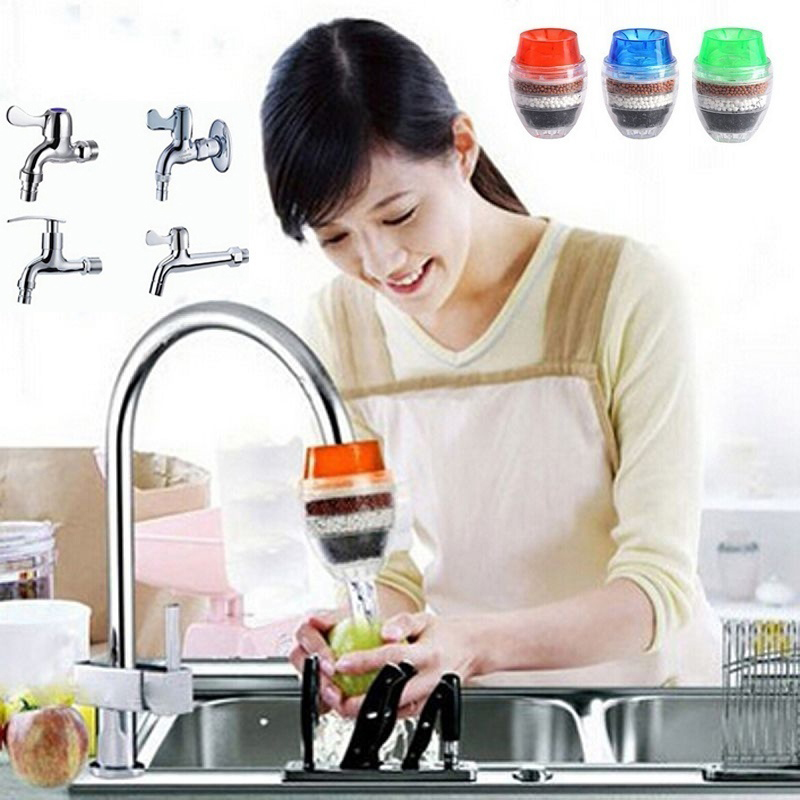 Activated Carbon Water Purifier for Household Kitchen Faucet with Multiple Layer Filtration 2