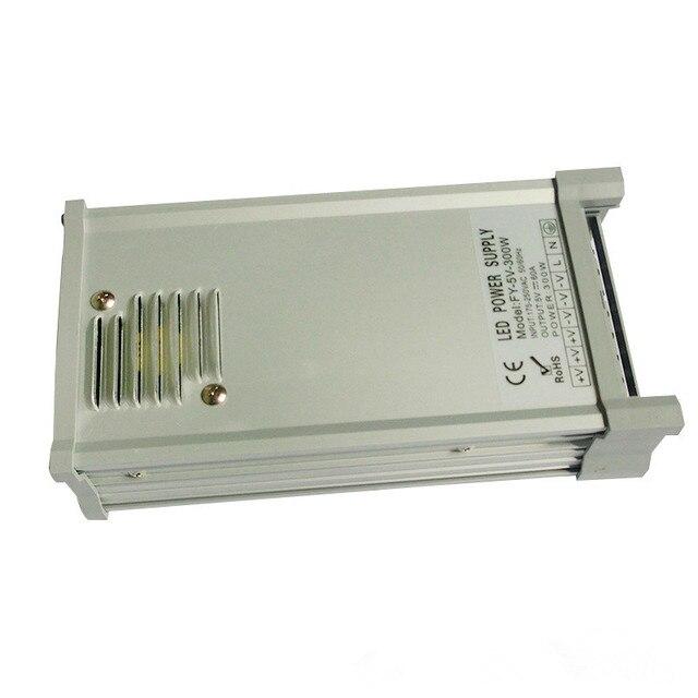 5V/300W rain proof switch mode Power Supply;AC120V or AC230V input;DC5V/300W output