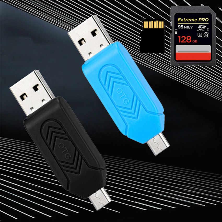 E5 MeCall MINI USB 2.0 + OTG Micro SD/SDXC TF Lecteur de Carte Adaptateur U Disque