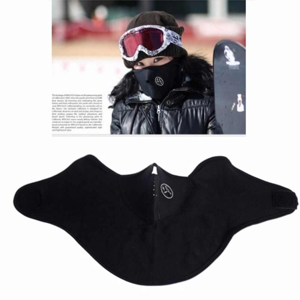 الرياح سدادة الوجه قناع الحرارية الصوف بالاكلافا قبعة هود 6 في 1 تزلج دراجة الرقبة أدفأ شتاء الصوف موتور