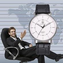 2019 Hot Sale Quality Fashion Casual Business Mens Belt Watch Quartz Men Luxury Reloj Hombre Gifts Classy