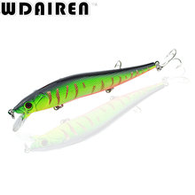 1Pcs  Fishing Lures 11.5cm 13g Japan Deepswim Saltwater Minnow Hard Bait 3D Eyes Plastic Floating Wobbler Crankbait Swimbait