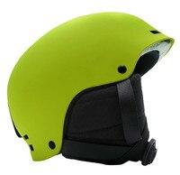 Capacete de esqui Das Mulheres Dos Homens Tamanho Ajustável capacete Patinação CE Novo Design profissional Snowboard Ski Capacete Ultraleve