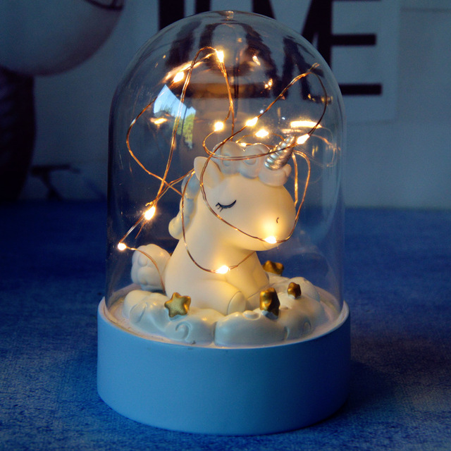 Unicorn LED Night Light Home Decoration 2