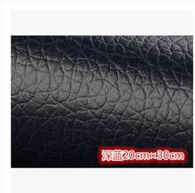 20*30cm Adhesive litchi pattern sofa fabric car patch self-adhesive leather soft bag(China)