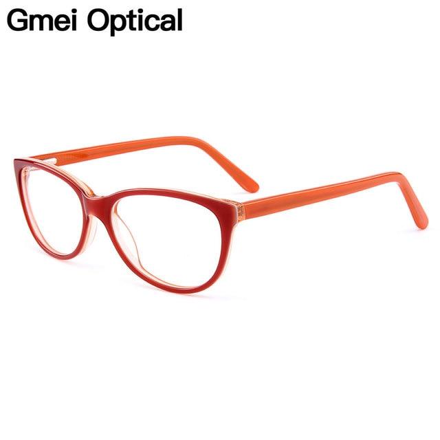 Gmei Optical New Trendy Cat Eye Acetate Full Rim Optical Glasses ...