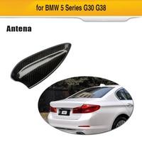 Antenna Covers For BMW 5 Series G30 G38 F90 M5 520i 530i 540i Carbon Fiber Antenna Cover Shark Fin auto roof Antenna