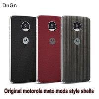 Motorola moto Z play case original moto modów styl powłoki adsorpcji magnetycznego tylna okładka Protector Case dla moto z play droid