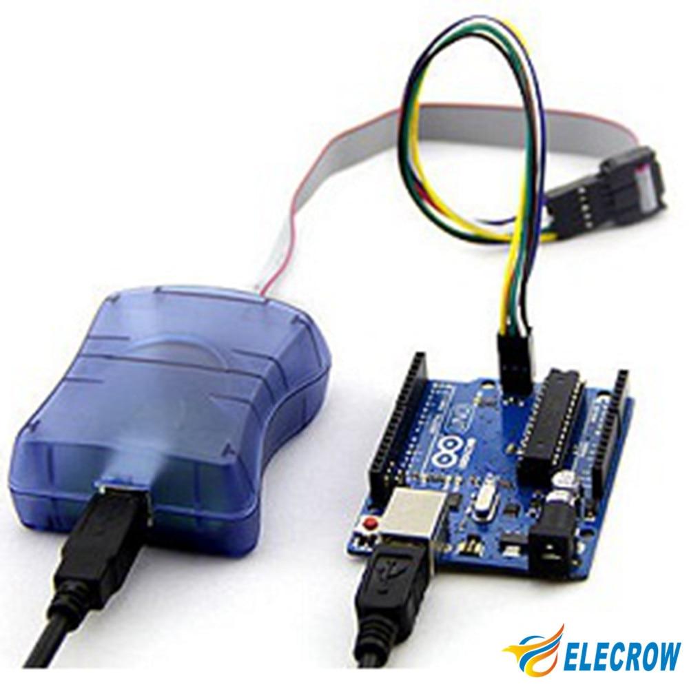 Elecrow Atmel AVRISP STK500 USB ISP Programmer Programming For Arduino Compatible Chip Electronic DIY Kit Module Free Shipping