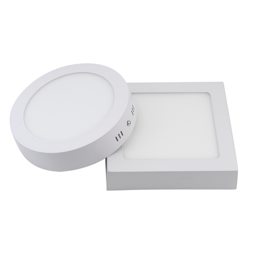 Free shipping 9w 15w 25w Round/Square Led Panel Light Surface Mounted Downlight lighting Led ceiling down AC 110-240V + Driver