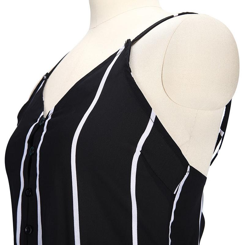 HTB1Ogo0RXXXXXbqXXXXq6xXFXXXC - Sexy Black and White Striped Playsuit Summer PTC 147