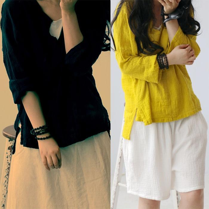 d61ed1747 Camisa Feminina Manga Curta Blusas Renda Para Comprar Peplum Top Plus Size  Female Top Dentelle Women Tunic Linen Shirts Blouses