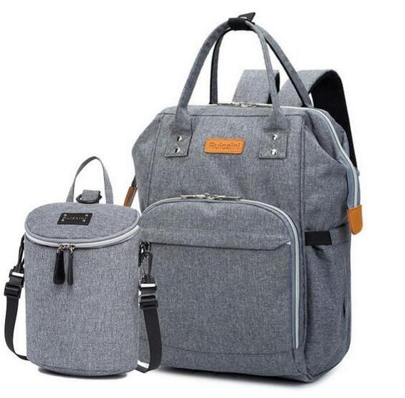 Diaper Bag And Insulation Bags Fashion Maternity Mummy Backpack Nappy Changing Organizer Waterproof Baby Care Bags