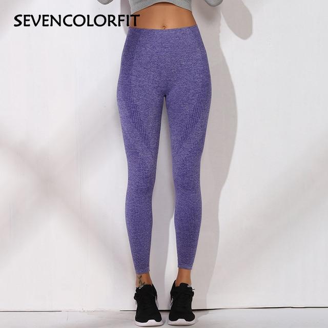 Sevencolorfit Gym Vital Seamless Leggings  High Waisted Athletic Sport Fitness Sports Wear For Women Yoga Pants Jogging Leggins