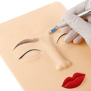 Maquillaje facial para la práctica de tatuajes en 3D, maquillaje permanente de silicona para la cara, Microblading de cejas, delineador de ojos, cosmética, suministro de tatuaje facial para mujer