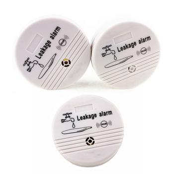 Topvico 3 sztuk wykrywacz nieszczelności Alarm 90dB alert głosowy bezprzewodowy czujnik wycieku wody bezpieczeństwa domu system alarmowy do domu tanie i dobre opinie HH-LS518-3 Water Overflow Leakage Alarm Sensor Detector