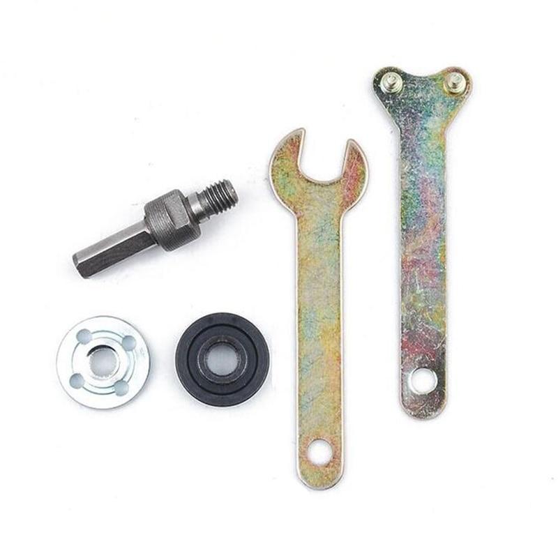 Biella per smerigliatrice angolare di conversione trapano elettrico per taglio Lucidatura disco Metalli ruote Accessori adattatore supporto maniglia