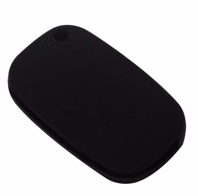 Jingyuqin 3 Buttons Silicone Rubber Car Key Case Cover for LADA Vesta Granta XRay Kalina Priora Sedan Sport for Renault fit Benz