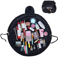 New Women Cosmetic Bag Large Capacity Portable Drawstring Storage Artifact Magic Travel Make Up Bag Pouch