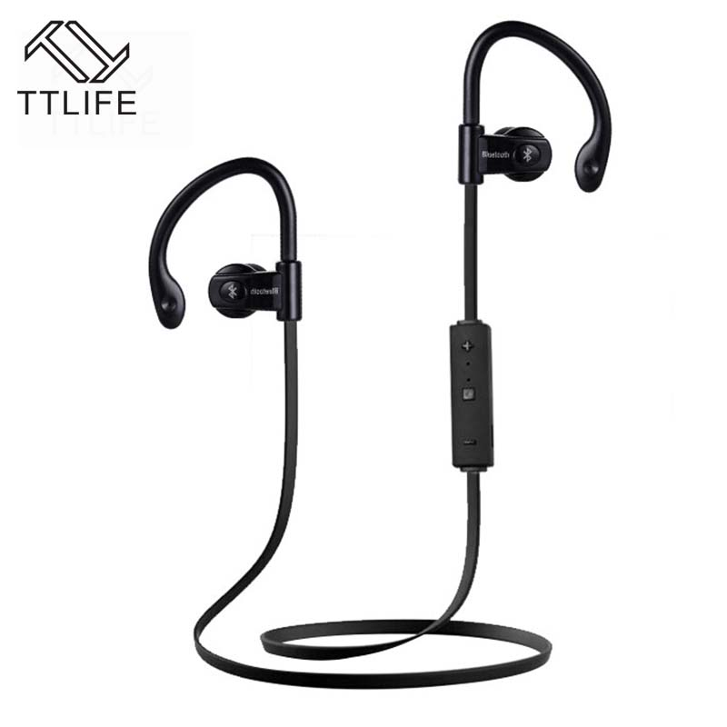 TTLIFE Sweatproof Wireless Sport Bluetooth headset 4.1 Stereo earphone Earpiece music Headphone with Mic Handfree fone de ouvido hot sale ttlife smart bluetooth 4 1 earphone upgraded wireless sports headphone portable handfree headset with mic for phones