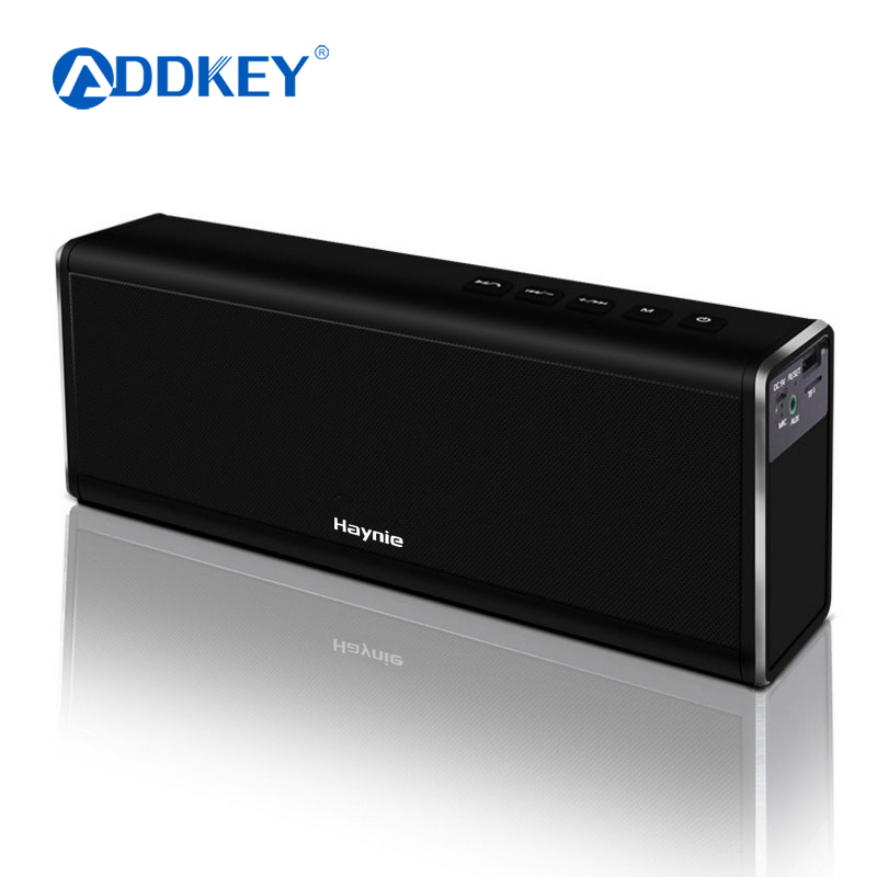 Haynie Super Bass 20 W Bluetooth Speaker 4000 mAH Power Bank Draagbare Draadloze Metalen HIFI Speaker voor telefoon IOS & Android VS Piple-in Draagbare Luidspreker van Consumentenelektronica op  Groep 1