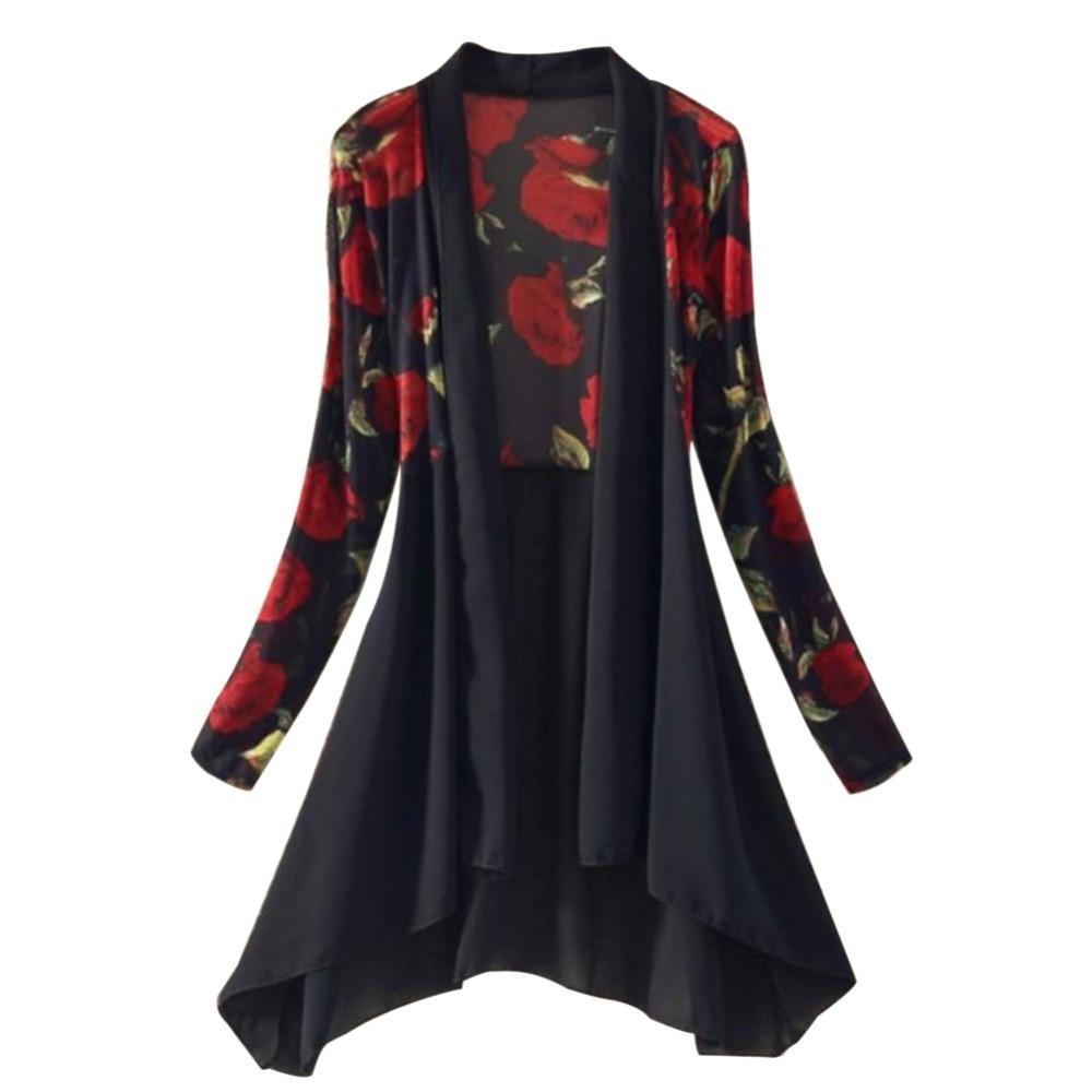 Peplum Top Chiffon Blouse Womens Tops O-neck Long Sleeve Blusas Mujer Autumn Winter Clothes Black White Shirt Female
