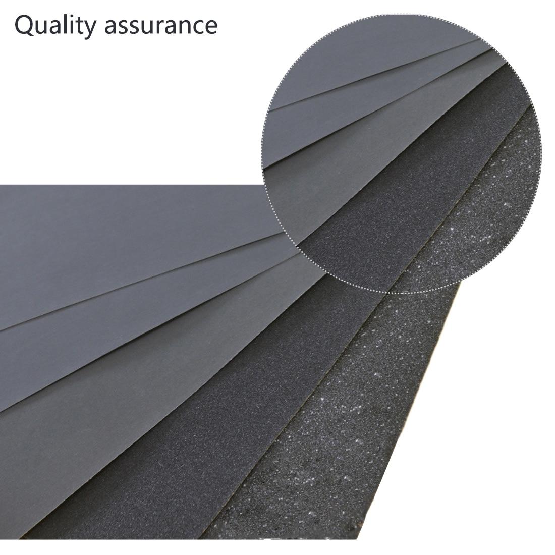 Grits 80#-2000# Waterproof Sanding Paper Wet Dry Polishing Sandpaper Grit Granularity Metal Wood