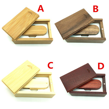 Wedding Photography Gift bamboo Walnut Woodens 4GB 8GB 16GB 32GB 64GB Usb 2.0 USB Stick Pen Drive Memory Stick Pendrives U Disk