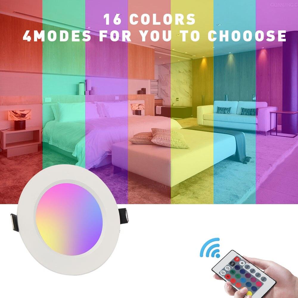 5 հատ / Լոտ 5W / 10W RGB LED վահանակային - Ներքին լուսավորություն - Լուսանկար 6