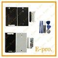 Новый Полный Полный Жилищно Задняя Крышка Ближний Шасси Рамка Для Sony Xperia S LT26i LT26 Крышка Батарейного Отсека + Инструменты