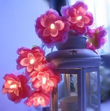 СВЕТОДИОДНЫЙ Шар-вспышка, гирлянда для свадьбы, Рождества, украшения для спальни, лампа, звездный свет 1,5 м, 10 светодиодный