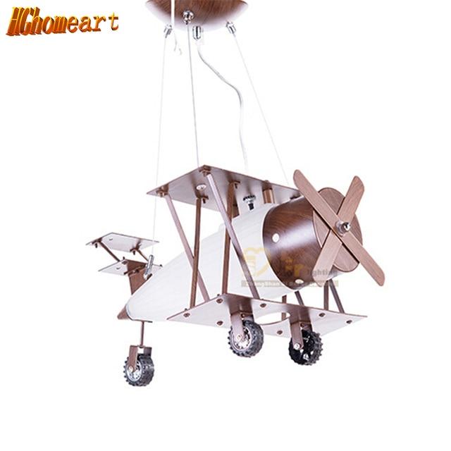 Uitzonderlijk Hghomeart Kinderkamer Vliegtuigen Led hanglampen Antieke hanglamp OO65