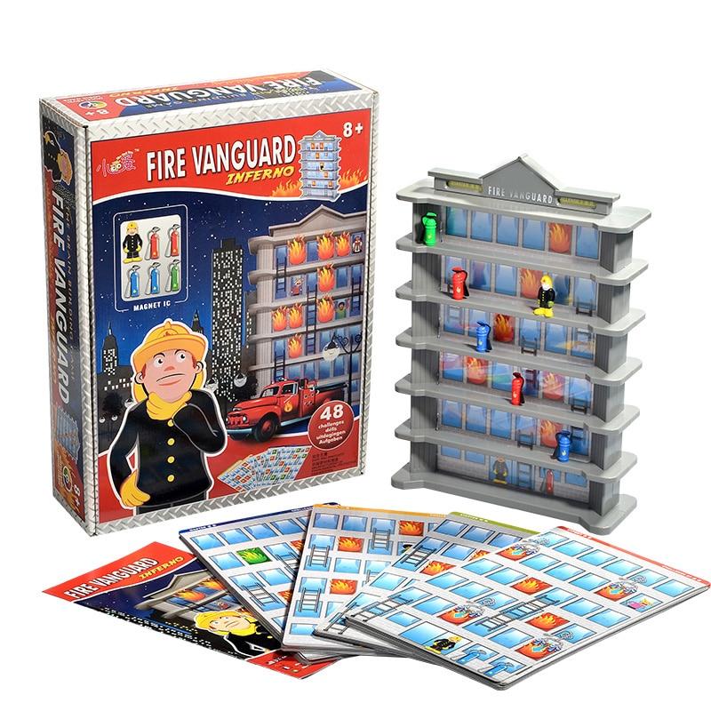 Feu Vanguard 3D Puzzle jeu de société famille/fête Parents avec enfants drôle Mental labyrinthe jeu envoyer des Instructions en anglais