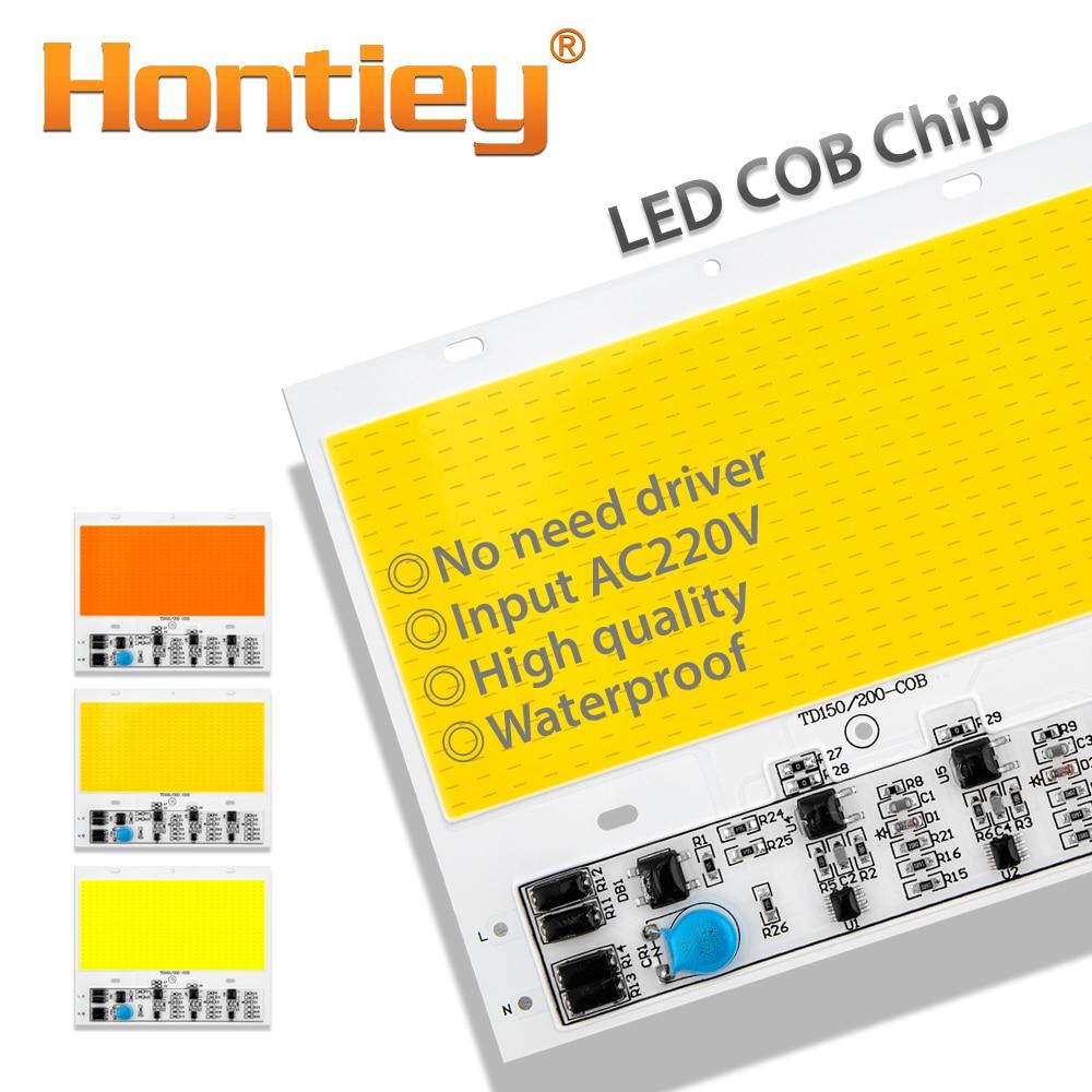 Купить с кэшбэком Hontiey LED 150W COB Flip Bulb Matrix Smart IC Waterproof AC 180V 300V No need driver White Warm Cool Full Spectrum DIY Road