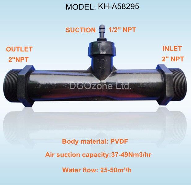 Popular ozone venturi injector buy cheap ozone venturi for Koi pond venturi