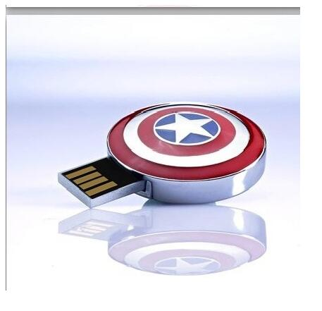 Hot!The Avengers pen drive Captain America flash card Iron Man usb stick The Hulk Thor 8G 16G 32G 64G 128G USB2.0 usb flash gift-in USB Flash Drives from Computer & Office