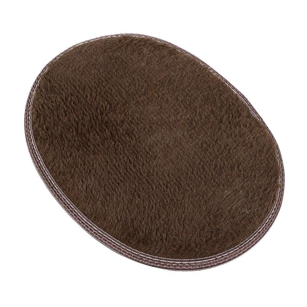 High Quality 30*40cm Polyester Anti Skid Fluffy Shaggy