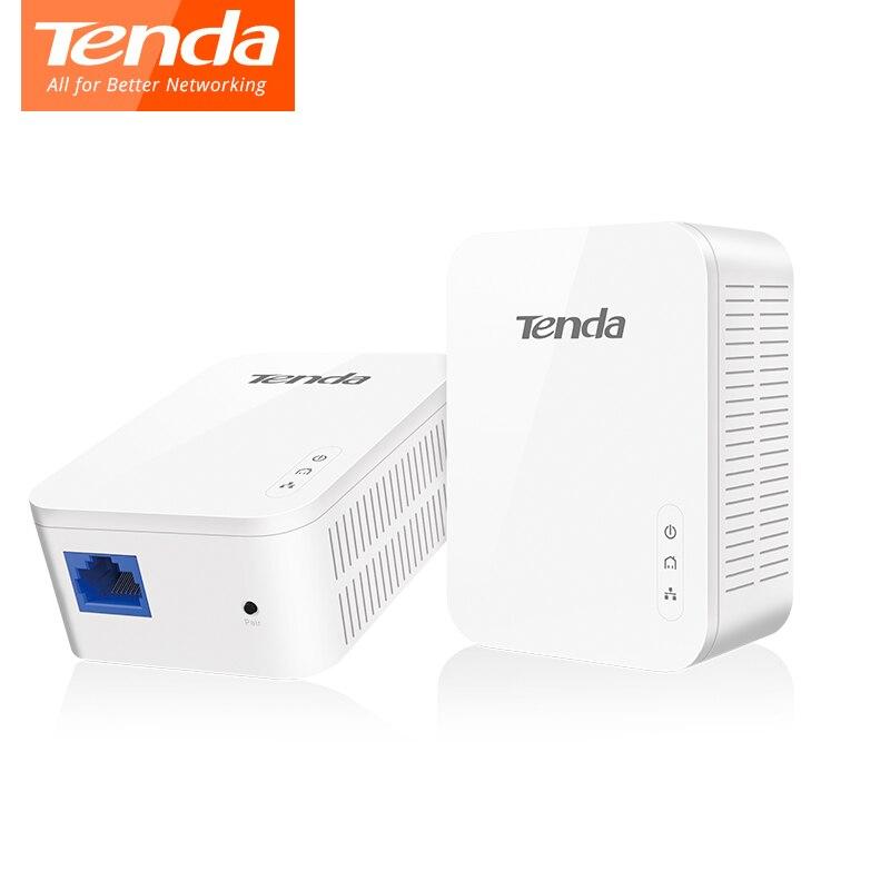 1 paire Tenda PH3 1000 Mbps adaptateur réseau Powerline AV1000 Ethernet KIT adaptateur PLC Gigabit adaptateur de ligne d'alimentation IPTV homeplug AV2