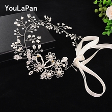 YouLaPan SH07 beaded pearl belt ladies for dress crystal sash black women designer elegant