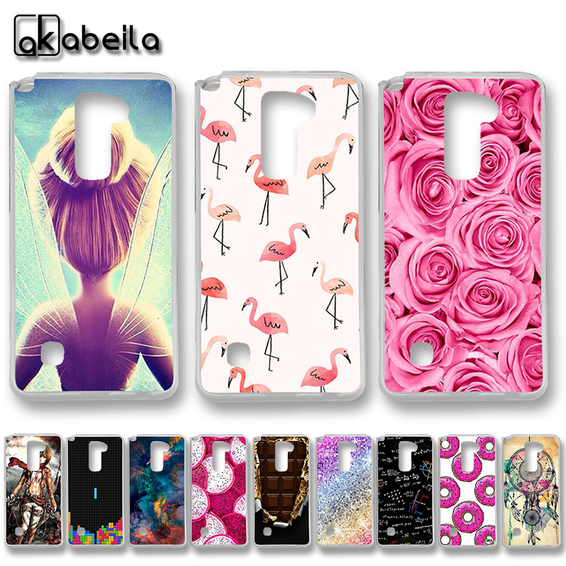 AKABEILA Soft TPU Plastic Phone Cases For LG Stylus 2 Plus K530 K535/F720 LS775 G Stylo 2 K520 stylus2 Covers Nutella Bags Back