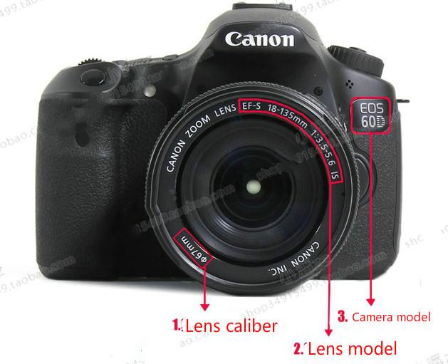 Free shipping HB - 48 hb48 lens hood for Canon 70-0 - mm f/G EDII lens diameter is 77 mm 6