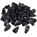 50pcs Black Boot Cap Plug Head For RJ45 Cat5/6 Cable Connector Modular Network Wholesale