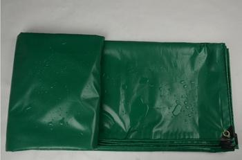 Customize 400g/sqm 2mX3m 9.84ft X6.56  green outdoor waterproof tarps, rain PVC cover, truck tarp. tent material,dust cover