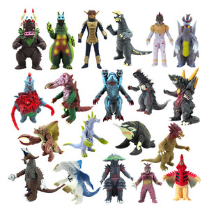 Soft joints are Action Figure Movable doll Model Toy Jongens Kid Kind Speelgoed Anime Cartoon Movie Ultraman Monsters Gojira(China)