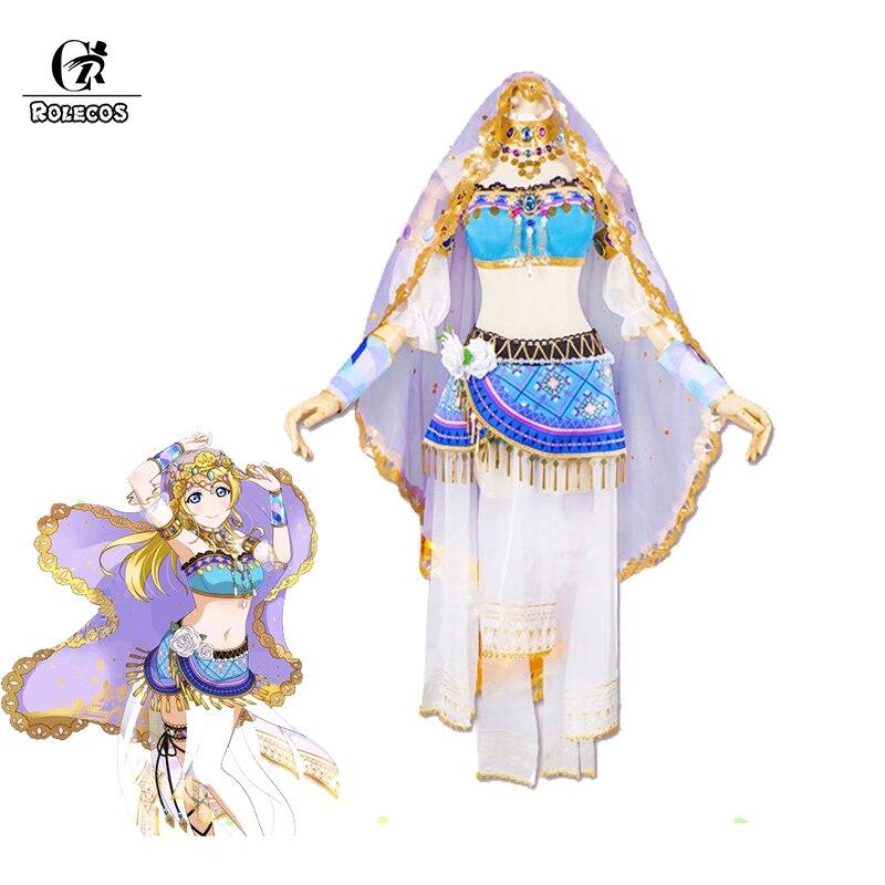 ROLECOS Anime Love Live Tous Les Caractères Cosplay Costumes Danseurs Lovelive L'excitation Kousaka Honoka Minami Kotori Cosplay Costumes